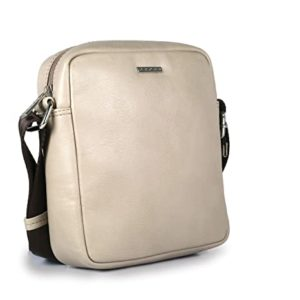 Cross Leather 20 cms Taupe Messenger Bag Rs 1088 amazon dealnloot