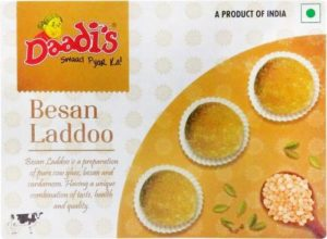 Daadi s Besan Laddoo Box 120 g Rs 9 flipkart dealnloot