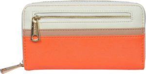 Diana Korr Casual Orange Clutch Rs 319 flipkart dealnloot