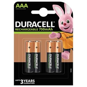 Duracell Rechargeable AAA 750mAh Batteries Pack of Rs 349 amazon dealnloot