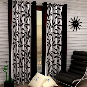 Fashion String 2 Pieces Window Curtain Set Rs 199 amazon dealnloot