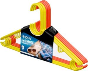 Happy to Hang Plastic Pack of 6 Rs 89 flipkart dealnloot