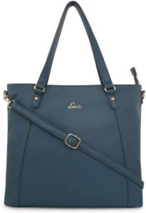 Lavie Women Blue Tote Rs 823 flipkart dealnloot