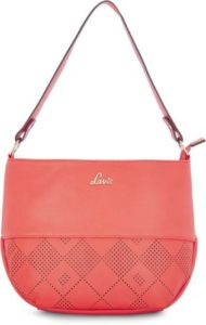Lavie Women Orange Hobo Rs 349 flipkart dealnloot
