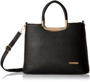 Lino Perros Women Handbag Black LWHB01916 Rs 748 amazon dealnloot
