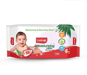 LuvLap Paraben Free Baby Wipes with Aloe Rs 59 amazon dealnloot