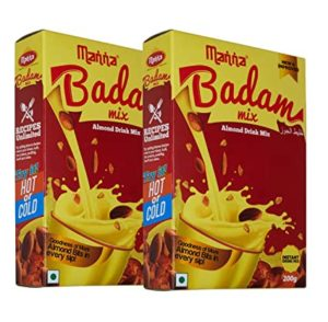 Manna Instant Badam Drink Mix with Real Rs 115 amazon dealnloot