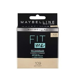 Maybelline Fit Me Compact Light Ivory 8 Rs 100 amazon dealnloot