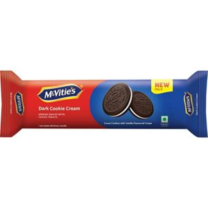 Mcvities Dark Cookies Cream 120gm Pack of Rs 198 amazon dealnloot