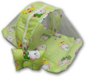 Miss Chief Polycotton Bedding Set Grass Green Rs 239 flipkart dealnloot