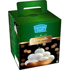 Mother Dairy Rasgulla 1000 g Rs 168 amazon dealnloot
