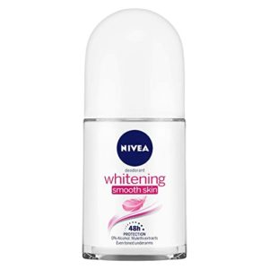 NIVEA Deodorant Roll on Whitening Smooth Skin Rs 109 amazon dealnloot