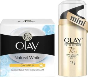 Olay Natural white day cream plus total Rs 379 flipkart dealnloot
