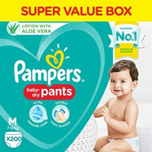 Pampers All round Protection Pants Medium size Rs 180 amazon dealnloot