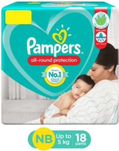 Pampers Diaper Pants with Aloe Vera lotion Rs 99 flipkart dealnloot