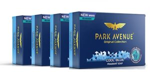 Park Avenue Cool Blue Fragrant Bar 125g Rs 90 amazon dealnloot