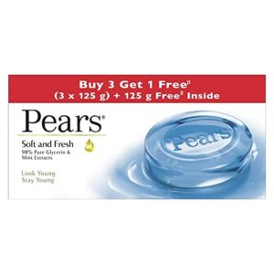 Pears Soft Fresh Bathing Bar with 98 Rs 117 amazon dealnloot