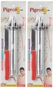 Pigeon Gas Lighter with Free Knife Set Rs 147 amazon dealnloot