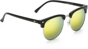Rapstar Mirrored Wayfarer Sunglasses Free Size Yellow Rs 234 flipkart dealnloot