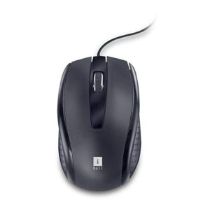 Renewed iBall Style 63 Optical Mouse Black Rs 75 amazon dealnloot