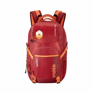 Safari 51 cms Wine Casual Travel Large Rs 749 amazon dealnloot