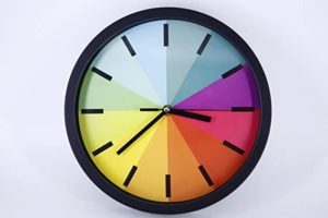 Silent Mute Wall Clocks Battery Operated Non Rs 399 amazon dealnloot
