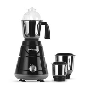 Solidaire 550 Watt Mixer Grinder with 3 Rs 1199 amazon dealnloot