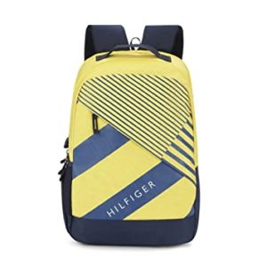 Tommy Hilfiger 46 cms Yellow Navy Laptop Rs 449 amazon dealnloot