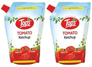 Tops Tomato Ketchup 950gm Pouch Pack of Rs 180 amazon dealnloot