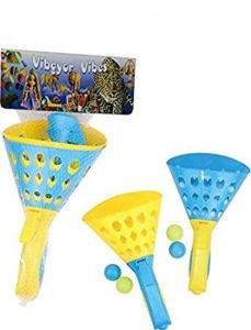 Vibgyor Vibes Pop and Catch Launcher Basket Rs 231 amazon dealnloot