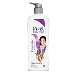 Vivel Body Wash Lavender and Almond Oil Rs 104 amazon dealnloot