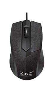 Zinq Technologies ZQ233 Wired Mouse with 1000DPI Rs 99 amazon dealnloot
