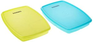 Amazon Brand Solimo Plastic Lunch Box Set Rs 149 amazon dealnloot