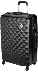 Amazon- Buy Pronto Naples ABS 75 cms Black Hardsided Check-in Luggage