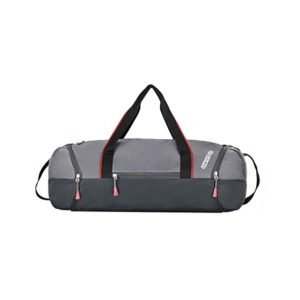 American Tourister Zeal Polyester 53 cms Grey Rs 499 amazon dealnloot