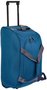 Aristocrat Polyester 53 cms Teal Blue Travel Rs 899 amazon dealnloot