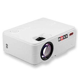 Boss S12 Full HD Home Theatre Projector Rs 12490 amazon dealnloot