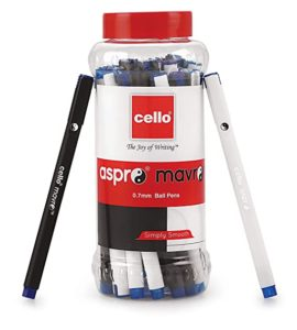 Cello Aspro Mavro Ball Pen 25 Pens Rs 126 amazon dealnloot