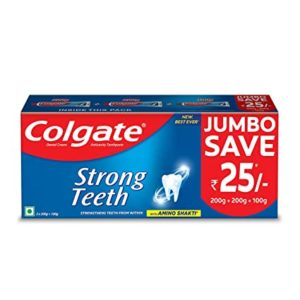 Colgate Strong Teeth Anticavity Toothpaste with Amino Rs 150 amazon dealnloot