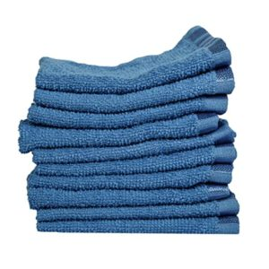 Eurospa Cotton Face Towel Set of 10 Rs 244 amazon dealnloot