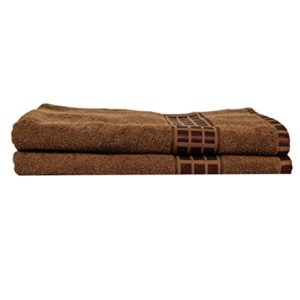 Eurospa Set of 2 Cotton Bath Towel Rs 317 amazon dealnloot