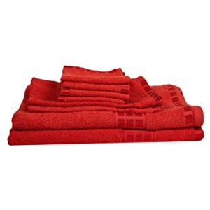 Eurospa Set of 8 Cotton Bath Hand Rs 685 amazon dealnloot