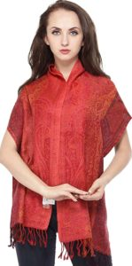 Exotic India Women s Wool Scarf Rs 239 amazon dealnloot
