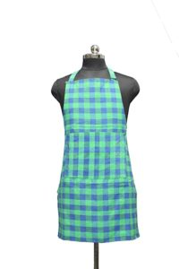 GLUN Waterproof Unisex Kitchen Apron Checkered with Rs 49 amazon dealnloot