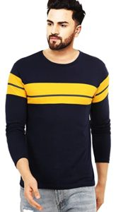 Leotude Men s Cotton Regular Fit T Rs 199 amazon dealnloot