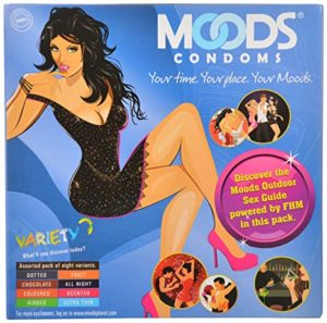 Moods Variety Pack 16 Condoms Pack of Rs 130 amazon dealnloot