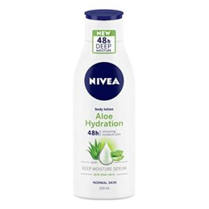 NIVEA Body Lotion Aloe Hydration For Normal Rs 156 amazon dealnloot