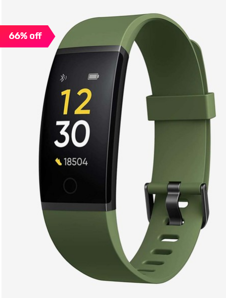 Realme RMA183 Smart Fitness Band (Green)