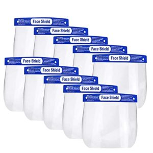 Reusable Safety Face Shield 5 Pcs Anti Rs 75 amazon dealnloot