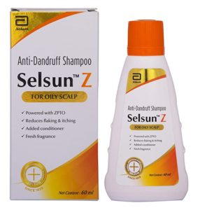 Selsun Z Anti Dandruff Shampoo for Oily Rs 156 amazon dealnloot